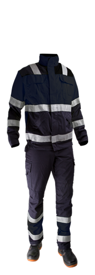 Heavy welding clothing
