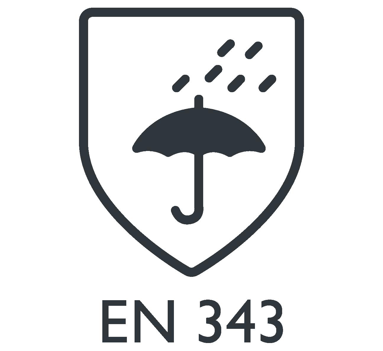 EN 343 prendas protección lluvia