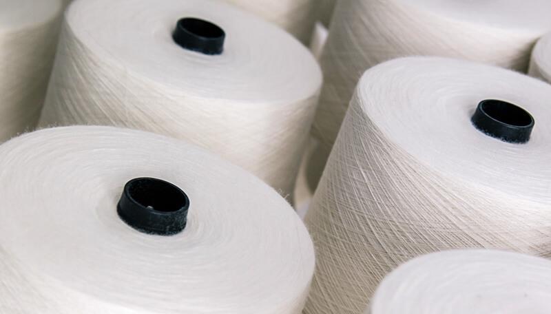 Produção de tecido técnico fio