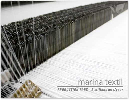 safety of the fireproof fabric production process Marina Textil