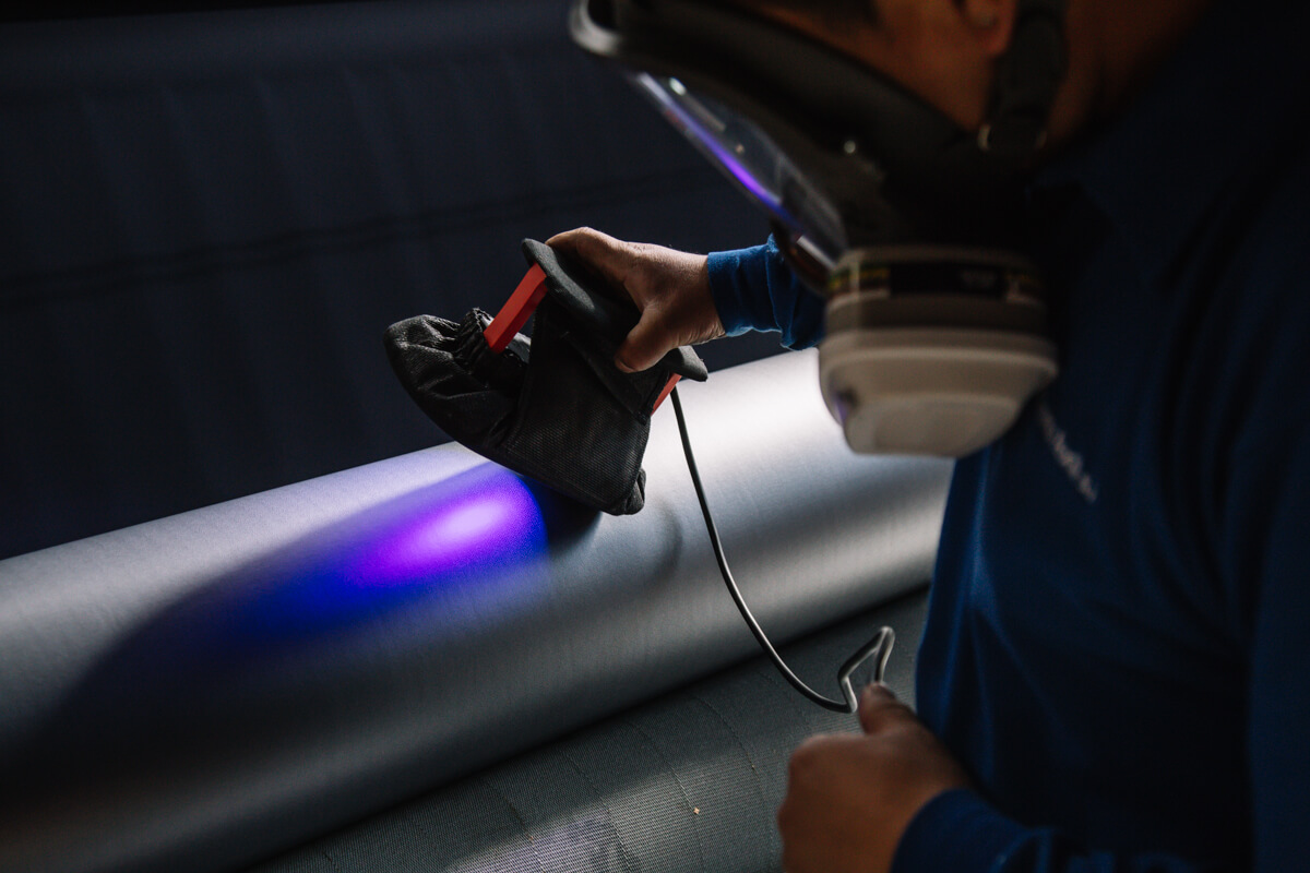 tissu technique pour la production de laminage Marina Textil
